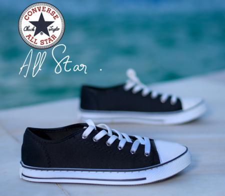 کفش دخترانه مدل ALL STAR (مشکی)