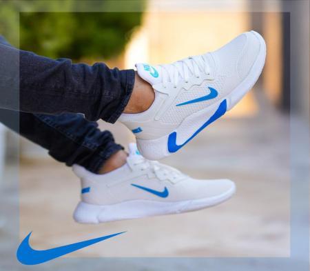 کفش مردانه nike مدل adrian (سفیـد آبی)