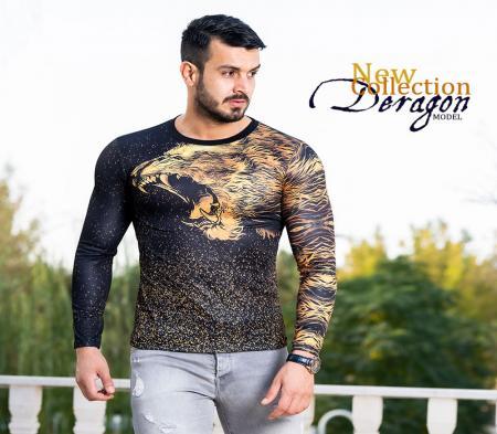 بلوز مردانه مدل Deragon